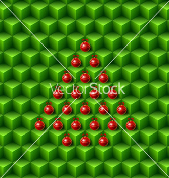 Free abstract christmas pattern vector - vector #234149 gratis