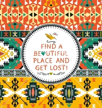 Free seamless colorful tribal pattern vector - Kostenloses vector #234469