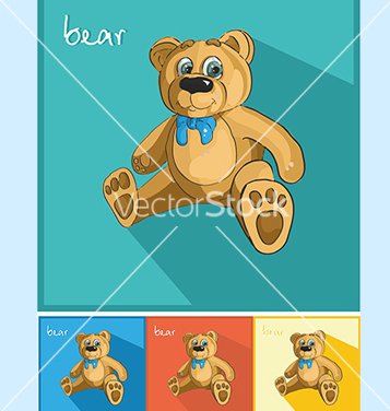Free icons bear and bow vector - vector gratuit #234579