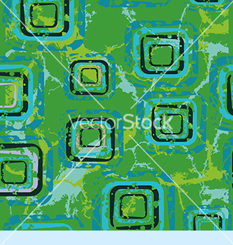 Free abstract pattern with squares on a green vector - vector gratuit #234599