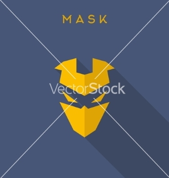 Free hero superhero mask flat style vector - бесплатный vector #234759