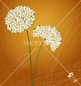 Free retro floral background vector - vector #234779 gratis