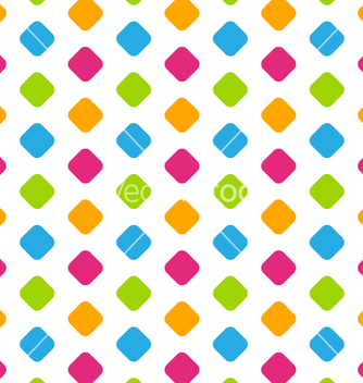 Free seamless geometric pattern colorful kid pattern vector - vector #235009 gratis