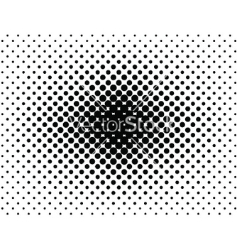 Free abstract halftone vector - Kostenloses vector #235249