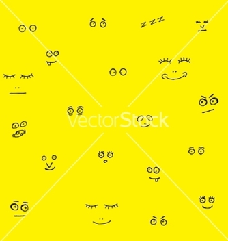 Free funny faces vector - Free vector #235459