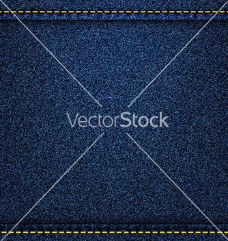 Free denim jeans texture with strings and seams vector - Kostenloses vector #235629