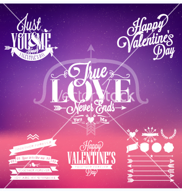 Free happy valentines day vector - vector gratuit #235929