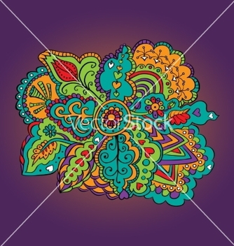 Free colorful abstract pattern vector - Kostenloses vector #236299