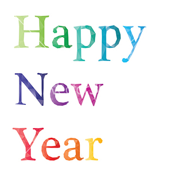 Free happy new year vector - vector gratuit #236379