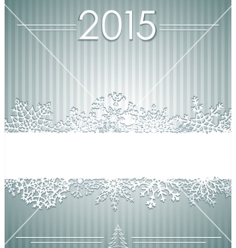 Free christmas background with snowflakes vector - vector #236429 gratis