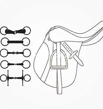 Free horse supplies vector - Free vector #236499
