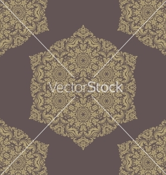 Free damask seamless pattern orient background vector - vector #236519 gratis