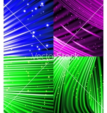 Free set of abstract luminous rays background vector - Free vector #236709