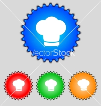 Free chef hat sign icon cooking symbol cooks hat set vector - Kostenloses vector #236879