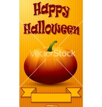Free happy halloween background vector - vector #236919 gratis