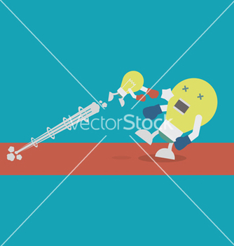 Free lightbulbsmash vector - Free vector #237149