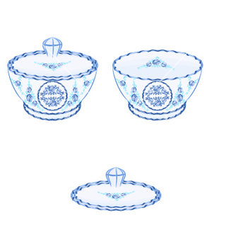 Free sugarbowl vector - бесплатный vector #237359