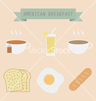 Free breakfast vector - Free vector #237519