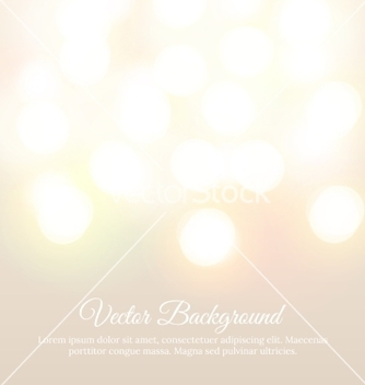 Free bokeh light vintage background vector - vector gratuit #237869