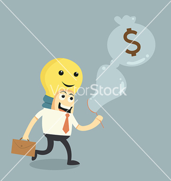 Free make ideas to money vector - бесплатный vector #237929