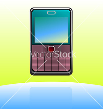 Free cell phone icon vector - Kostenloses vector #237949