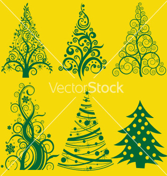 Free christmas tree 2 vector - Free vector #238009