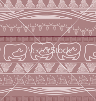 Free seamless ethnic pattern in african style vector - бесплатный vector #238159