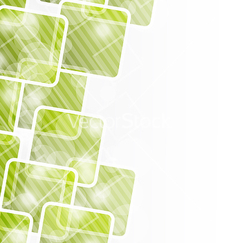 Free abstract banner with squares for design corporate vector - vector #238419 gratis