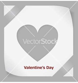 Free valentines day paper sticker vector - Free vector #238479