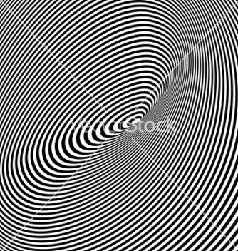 Free black and white opt art background vector - Free vector #238599