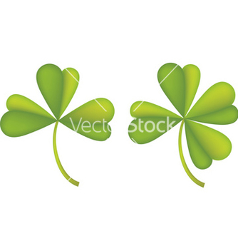 Free set of clover leaves2 vector - бесплатный vector #238729