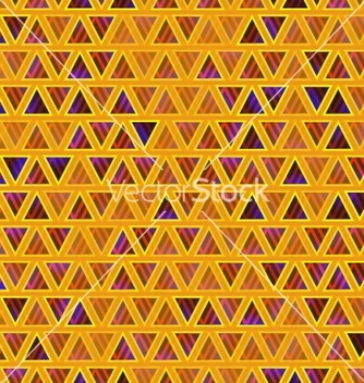 Free seamless abstract triangles background vector - vector #238999 gratis