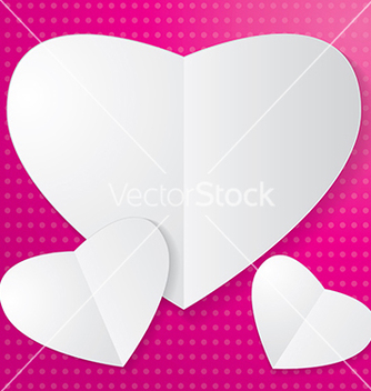Free paper heart vector - Free vector #239039