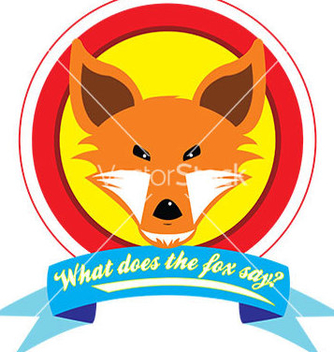 Free what does the fox say vector - бесплатный vector #239509