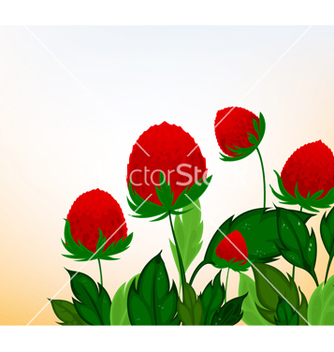 Free amaranth flowers cartoon background vector - бесплатный vector #239679