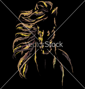 Free image of an horse vector - Kostenloses vector #239849