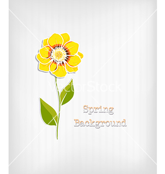 Free floral background vector - Free vector #240339