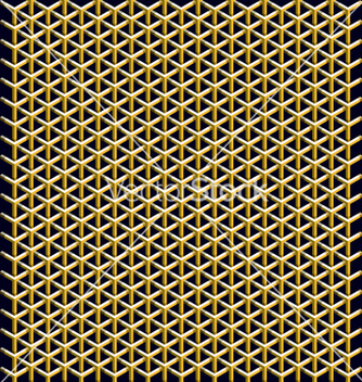 Free geometric pattern of hexagons vector - бесплатный vector #240449