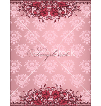 Free vintage floral background vector - Kostenloses vector #240859