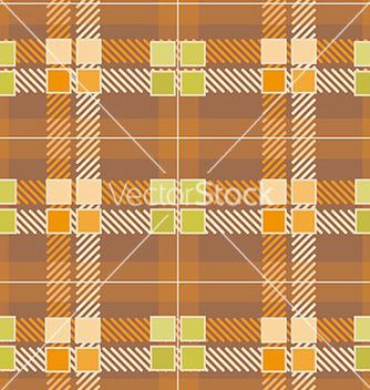 Free modern yellow plaid pattern vector - бесплатный vector #241769