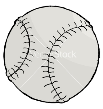 Free baseball ball vector - Free vector #242279