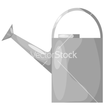 Free cartoon for watering the garden eps10 vector - Free vector #242509