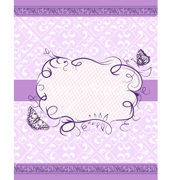Free frame with floral vector - Kostenloses vector #242769