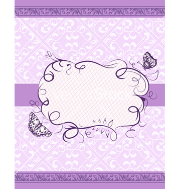 Free frame with floral vector - vector gratuit #242769