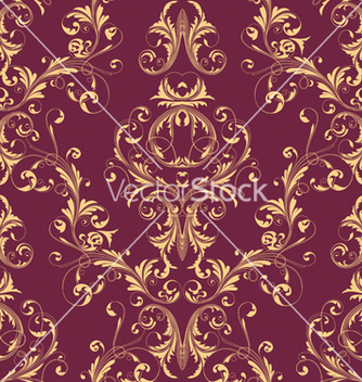 Free victorian seamless pattern vector - vector #242809 gratis