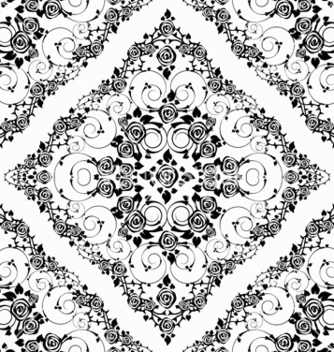 Free victorian seamless pattern vector - vector #242819 gratis