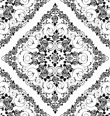 Free victorian seamless pattern vector - vector gratuit #242819