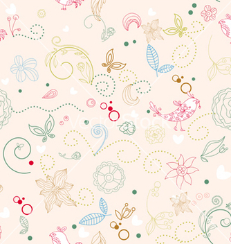 Free seamless pattern vector - бесплатный vector #242869