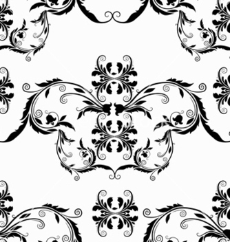 Free victorian seamless pattern vector - Kostenloses vector #242879