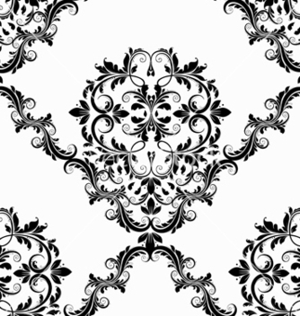 Free victorian seamless pattern vector - Kostenloses vector #242899